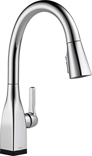 Delta Faucetdelta Faucet Mateo Voiceiq Single Handle Touch Kitchen Sink Faucet With Pull Down Sprayer Alexa And Google Assistant Voice Activated Smart Home Chrome Dailymail