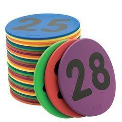 Farbe My Class 12,7 cm nummerierten Spots von Pacific Mountain