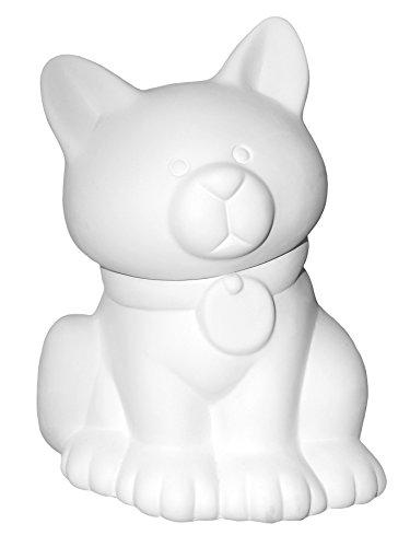 Purrrfect Cat (Kitty Cat Treat Jar - Paint Your Own Purrr-fect Ceramic Keepsake)