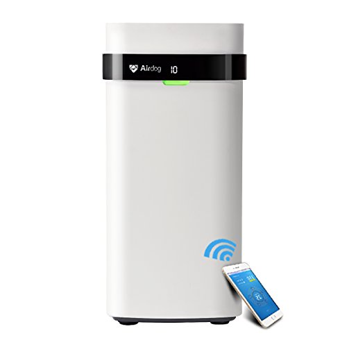 Airdog X5 Air Purifier Wi-Fi Enabled with Reusable Filter for Allergen, Dust, Pet, Odor, Smoke/Mold/Germ/White