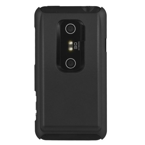 Seidio SURFACE Extended Case for Innocell Extended Life Batteries for HTC EVO 3D - 1 Pack - Case - Retail Packaging - Black
