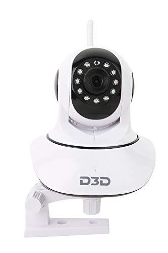 D3D D8810 HD 720P WiFi Home Security Camera PTZ 360 (White)