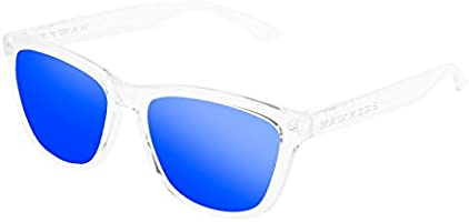 Hawkers Air Sky One, Gafas de sol Unisex, Transparente/Azul