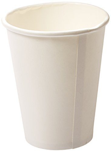 Cups Hot (Genuine Joe GJO19047PK Polyurethane-Lined Single-Wall Disposable Hot Cup, 12-Ounce Capacity, White (Pack of 50))