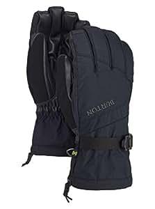Burton Men's Insulated, Warm and Waterproof Winter Profile Glove with Touchscreen, True Black, Small