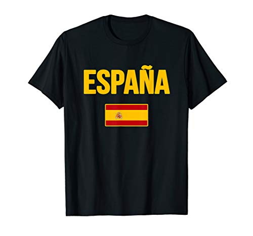 T-shirt Spain Flag - Espana T-shirt Spanish Flag Spain