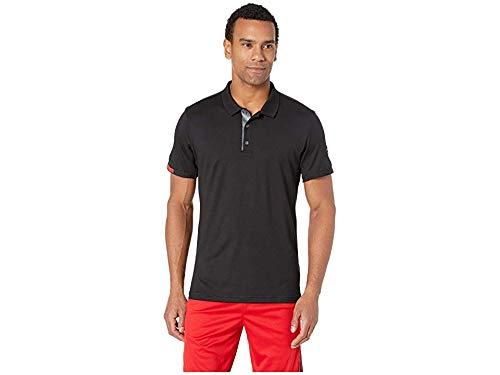 (adidas Men's Matchcode Polo Black/Night Metallic Medium )