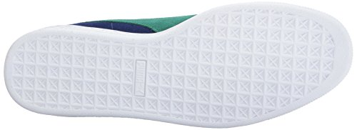 PUMA Men's Suede Classic + Fashion Sneaker Blue Depths-verdant Green cheap finishline Cheapest online largest supplier wSTBqh
