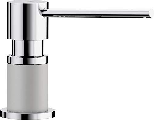 BLANCO 525818 LATO Soap Dispenser, Pearl Grey/Chrome