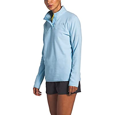 The North Face Women's TKA Glacier Snap-Neck Pullover: Clothing