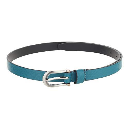 Paradigm Design Lab Solid Formal Green Women's leather Belt(38)