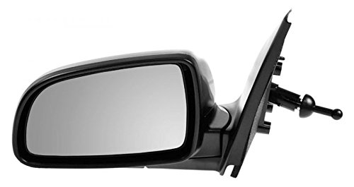 Manual Remote Mirror Left LH Driver Side for Chevy Aveo 4dr ()