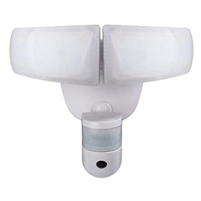 Defiant 180° White LED Wi-Fi Video Motion Security Light