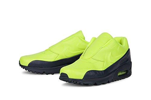 Scarpa Nike Sacai X Nikelab Air Max 90 Donna (7,5, Volt / Ossidiana)