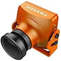 Foxeer HS1195 Arrow V3 FPV Camera Metal Case Built-in OSD Audio - NTSC - Lens 2.5mm - Orange