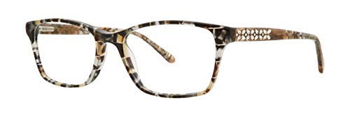 Vera Wang Women's Eyeglasses Diandra GT Granite Full Rim Optical Frame 53mm