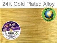 - Soft Flex Extreme Beading Wire 24k Gold .014