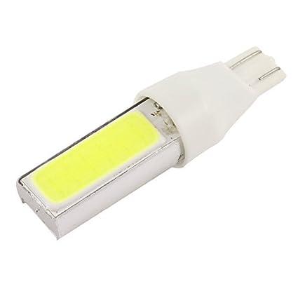 eDealMax Blanca COB T10 15W luz de niebla del Freno de estacionamiento de copia de seguridad