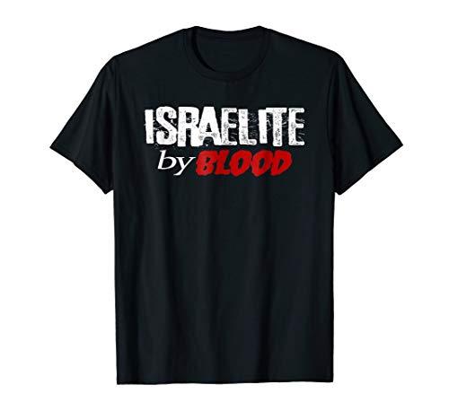 Hebrew Israelite by Blood DNA Tribe Judah Torah T-Shirt