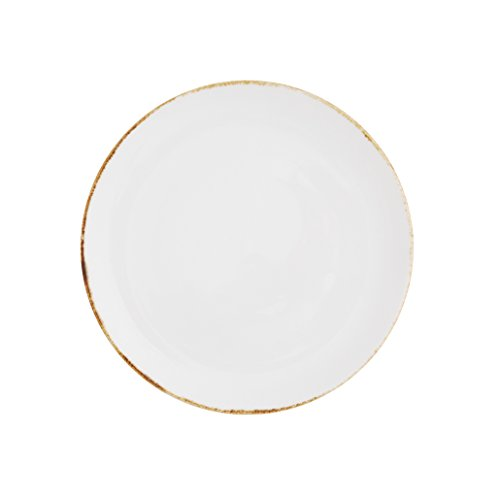 Gold Coupe Dinner Plate - 3