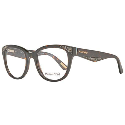 052 By Gafas 50 50 0 Marrón Para braun Monturas Brille De Mujer Guess Gm0319 Marciano 8SqqdI
