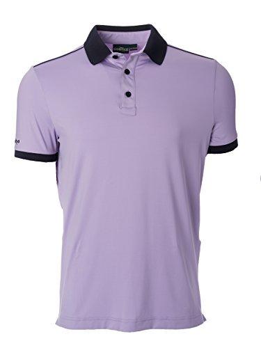 Chervo Men's Aella Golf Shirts Sienna Orchid Medium [並行輸入品]   B07K1RCSZ7