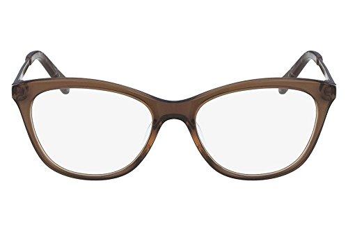 Óculos De Grau Nine West Nw8004 210/52 Marrom Transparente