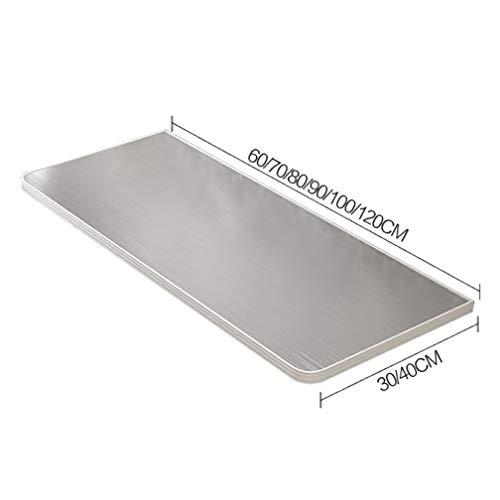 Outech väggfällbart bord, köksbord matbord, fällbord ädelstensyta, platsbesparande