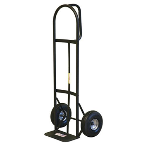 Milwaukee 30019 800-Pound Capacity D-Handle Hand Truck with 10-Inch Pneumatic Tires from Milwaukee