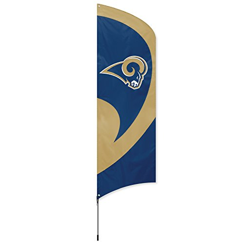 (Party Animal Los Angeles Rams NFL Flag Tailgating Kit )