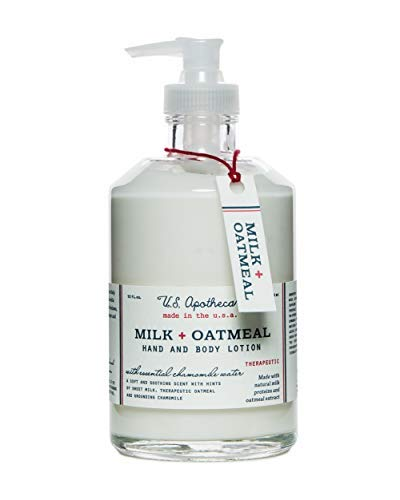 U.S. Apothecary Milk + Oatmeal Hand and Body Lotion, 12 fl. ounces ()