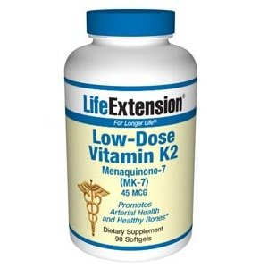 Life Extension faible dose de vitamine K2, Capsules, 90-Count