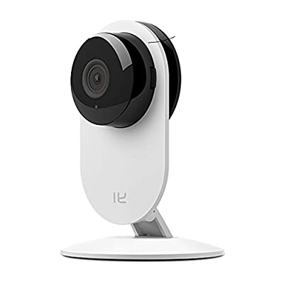 YI Home Camera (Official U.S. Edition), HD Wireless Camera, IP/Network Surveillance, 720p HD, Night Vision, Motion Detection & Alerts