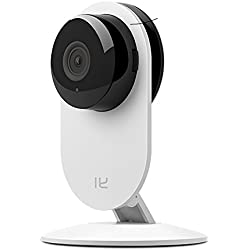 YI Home Camera Wireless IP Security Surveillance System (US Edition) White