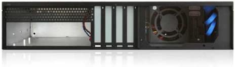 Black iStarUSA D-230HB-T 2U Compact 3X 3.5 Bay Hotswap microATX Chassis Power Supply Not Included 146398