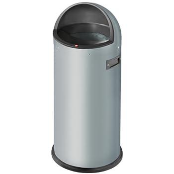 Image of Floor Mats & Matting Hailo Quick 50 Waste Bin, Silver