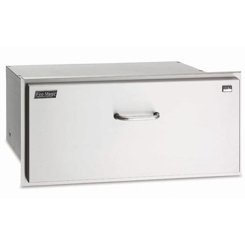 Stainless Steel Masonry Drawer with Outside Mounting (13