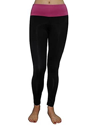 Marika Womens Professional Sports Skinny Pants Leggings / Yoga Pants M Black