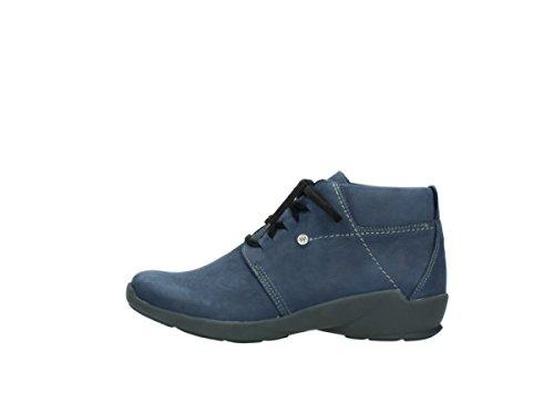 À Chaussures Nubuck 01571 Lacets 10800 Confort Dark Wolky nbsp;jaca Blue Eqx5wHzRnR