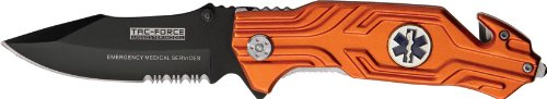 Tac Force TF-582EMS Assisted Opening Folding Knife 4.5-Inch Closed, Outdoor Stuffs