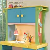 : Powell Sunday Funnies Desk Hutch