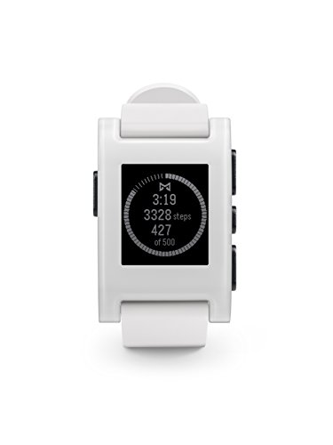 855906004108 - Pebble Smartwatch White carousel main 0