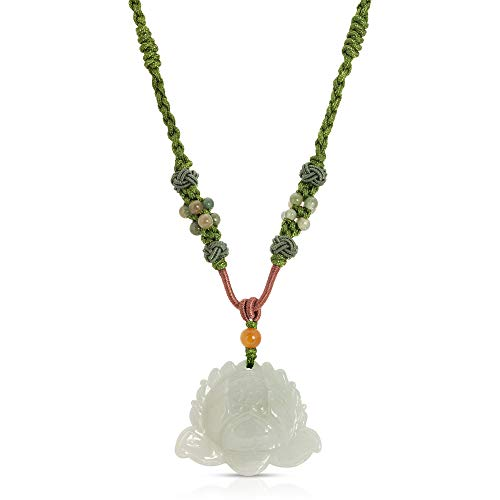 Lotus Hand-Carved Jade - Flower Jade Lotus