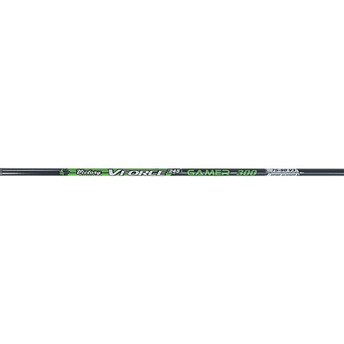 - Victory Archery V-Force Gamer Shafts (One Dozen), Black, 350