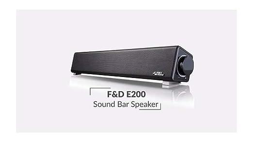 868a8cb9966 F D E200 Soundbar Speaker System (Black) Price  Buy F D E200 Soundbar  Speaker System (Black) Online in India -Amazon.in