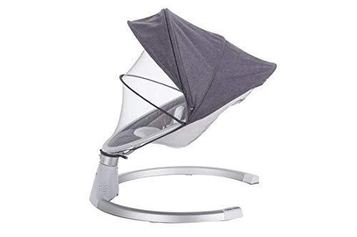 Babywippe mit 5 Schwingungsamplituden /& 3 Timing Elektro Schaukelstuhl mit Musik USB Bluetooth Modell1-Grau DREAMADE Elektrische Babyschaukel mit Fernbedienung f/ür Neugeborene 0-12 Monaten
