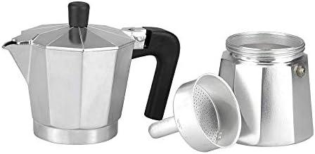 M MAGEFESA - Cafetera modelo KENIA de aluminio grueso - Pomo y Mangos ergonómicos de baketila toque frio, 12 Tazas: Amazon.es: Hogar