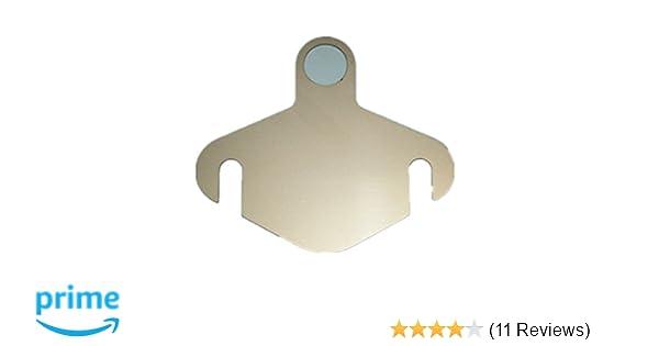 YANGCAN EGR Block Off Plate fits Duramax Diesel 2007.5-2011 LMM Blocker Stainless Steel 07-11