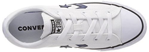 Star Converse Ox 102 black white Player navy Blanc navy White Baskets Mixte black Adulte UwaCZqw