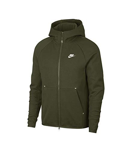 Fleece Hombre Verde Tech sequoia Sudadera Nike Sportswear white wPHqzT